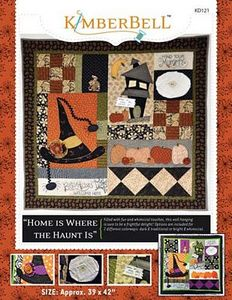 52705: KimberBell Designs KD121 Home Is Where the Haunt Is Pattern