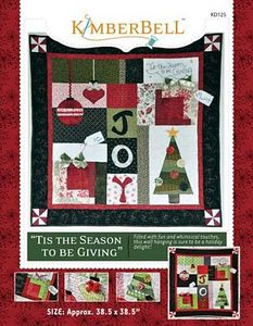 52706: KimberBell Designs KD125 Tis the Season to be Giving Pattern