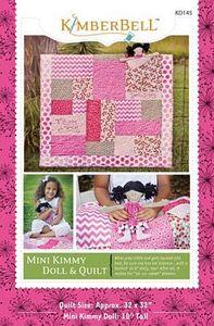 52696: KimberBell Designs KD145 Mini Kimmy Doll and Quilt Pattern