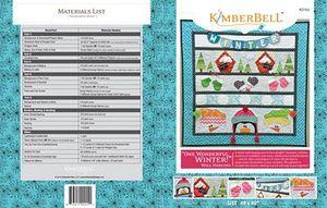 52716: KimberBell Designs KD162 One Wonderful Winter Pattern