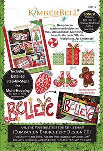 87484: Kimberbell KD512 Oh, the Possibilities for Christmas (Companion CD)