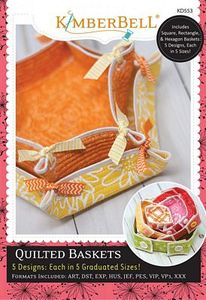 87515: KimberBell KD553 Quilted Baskets