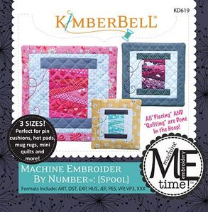 KimberBell KD619 Spool - Embroider by Number