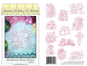 87689: Sue O'Very Designs SWAS47 Enchanted Sweet Easter