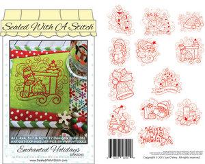 87697: Sue O'Very Designs SWASD45 Enchanted Holiday