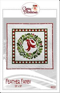 Cherry Blossoms Quilting Studio CBQS102 Feather Fancy
