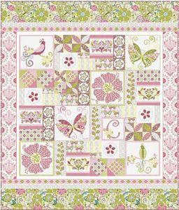 Cherry Blossoms Quilting Studio CBQS121 Soul Blossoms Applique Pattern