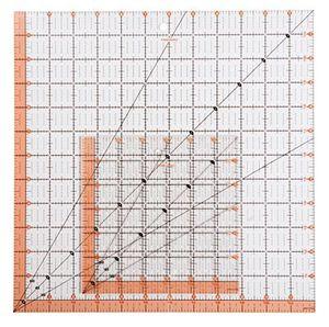 "Fiskars Ruler Easy to Read 8.5"" X 8.5"" Square"