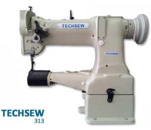 Techsew 313 Industrial Darning Machine , Power Stand, Servo Motor, Lamp