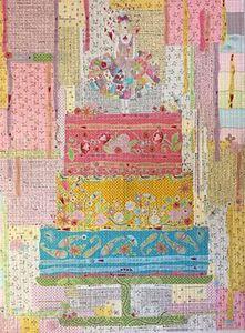 88422: Fiberworks FWECC Eat Cake Collage Pattern