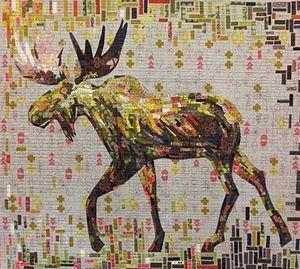 88499: Fiberworks FWMONT Montgomery Moose Pattern