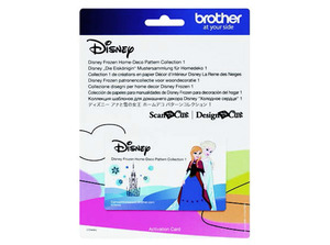 88412: Brother CADSNP04 Frozen Pattern Collection for ScanNCut