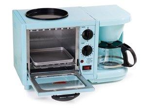 Elite Cuisine,EBK200BL,Kitchen Electrics,Toasters & Toaster Oven
