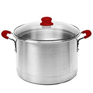 62427: IMUSA Global Kitchen GKA-61006 12-Quart Stock Pot with Glass Lid