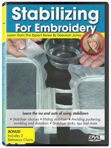 88729: DIME Exquisite Stabilizing for Embroidery Learn from The Expert Volume 1 by Deborah Jones