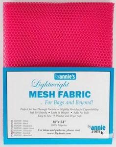 88746: Patterns by Annie Lightweight Mesh Fabric 18inx54in