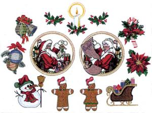 Balboa Threadworks 66L Christmas Collection 2 4x4 Embroidery Disks