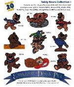 Amazing Designs 1029 Teddy Bears I Embroidery Disk