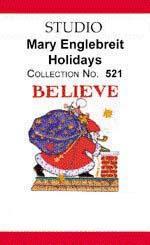Bernina Artista 521 Mary Engelbreit's Holidays Embroidery Card