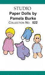 Bernina Artista 522 Paper Dolls Embroidery Card