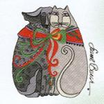 OESD, 793, Laurel, Burch, Holiday, Spirit, Embroidery, Card, Brother, pes, Format