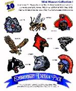 Amazing Designs AD1056 Great Notions 1056 Mini Mascot I Embroidery Designs Multi-Formatted CD