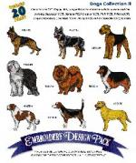 Amazing Designs / Great Notions 1060 Dogs II Multi-Formatted CD