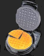 Chefs Choice 830B Waffle Pro Taste/Texture Select Belgian Waffler 1100 Watts- with 90 Second Ready Lightnohtin