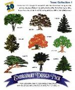 Amazing Designs Great Notions 1065 Trees I Multi-Formatted 11 Designs CD