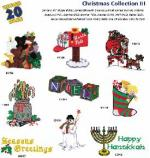 Great Notions1093 Christmas III Embroidery Multi-Formatted CD