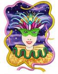 Dalco Ann the Gran Masquerade Collection Applique Designs