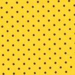 Fabric Finders 15 Yd Bolt 9.99 A Yd 167 Yellow with Black Dot Pique 100% Pima Cotton 60 inch