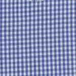 Fabric Finders 15 Yd Bolt 9.34 A Yd  Royal 1/16 inch Gingham Check 100 percent Pima Cotton 60 inch