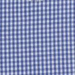 Fabric Finders 15 Yd Bolt 9.34 A Yd  Royal 1/16 inch Gingham Check 100 percent Pima Cotton 60 inch