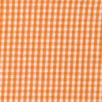 Fabric Finders 15 Yd Bolt 9.34 A Yd Orange 1/16 inch Gingham Check 100 percent Pima Cotton 60 inch