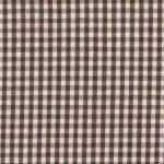 Fabric Finders 15 Yd Bolt 9.34 A Yd Chocolate 1/16 inch Gingham Check 100% Pima Cotton 60 inch