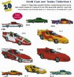 Amazing Designs / Great Notions 1221 Stock Cars and Trucks I Multi-formatted CD
