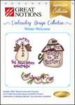 "OESD, 229-WW, Winter Welcome, Multi-Formatted, 4x4"" Embroidery, Designs CD"