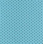 Fabric Finders #603 15 Yd Bolt 9.99 A Yd Pique 100% Pima Cotton Fabric Blue  With  Mini Black Dots 60""