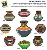 Amazing Designs, 1184, Pottery, Collection I, Embroidery, Multi-Formatted, Designs CD