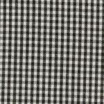Fabric Finders 15 Yd Bolt 9.34 A Yd Gingham Black 1/16 inch Check 100 percent Pima Cotton 60 inch