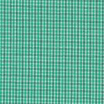 "Fabric Finders 15 Yd Bolt 9.34A Yd  T31 White, Dark Green, And Light Green Gingham Plaid 100% Pima Cotton 60"" Fabric"