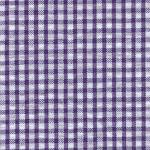 Fabric Finders 15 Yard Bolt 8.66 A Yd S62 Purple Gingham Seersucker100% Cotton 60 inch