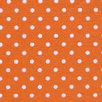 Fabric Finder15 Yd Bolt 9.34 A Yd 750Orange With Small White Dots100%Pima Cotton Fabric 60inch Twill