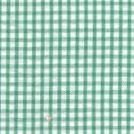 Fabric Finders 15 Yd Bolt 8.66 A Yd S62 Kelly Green Gingham Seersucker100 percent Cotton 60 inch