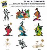 Amazing Designs / Great Notions 1208 African Art III Multi-Formatted CD