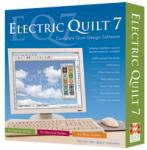 Electric Quilt EQ7 Complete Quilt Design Software* Library, Sketch Book, Note Cards, Search Blocks, Fabrics, Layout, Photos, Thread Library (EQ5, EQ6)