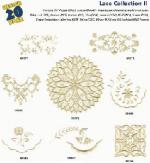 Amazing Designs / Great Notions 1211 Lace Collection II Multi-Formatted CD