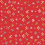 "Riley Blake 15Yd Bolt 7.34 A Yd C7086 Red Snowflake Christmas by My Mind 100%Cotton45""Fabric"