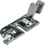 "PD60 P60007 Singer Slant Shank Screw On All Metal 3/16"" Rolled Edge Hemmer, Hinged Presser Foot"